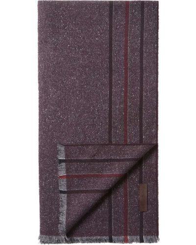 Красный шелковый шарф Ermenegildo Zegna