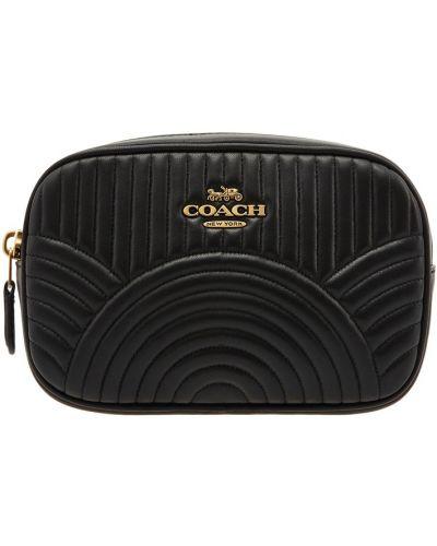 Кожаная сумка поясная сумка-мешок Coach
