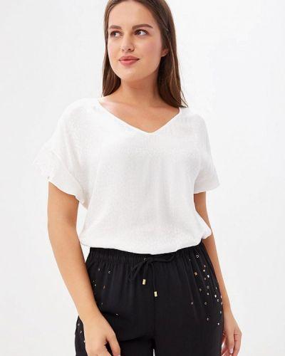 Блузка с рюшами осенняя Violeta By Mango