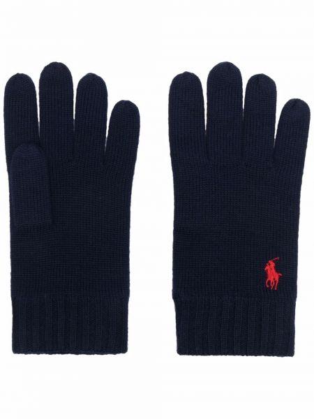 Rękawiczki wełniane - czerwone Polo Ralph Lauren