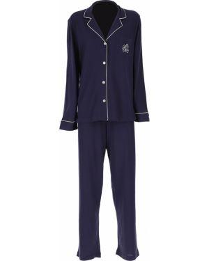 Spodni piżama długo z długimi rękawami Ralph Lauren