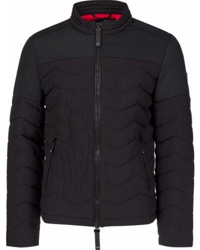 Куртка из полиэстера - черная Guess