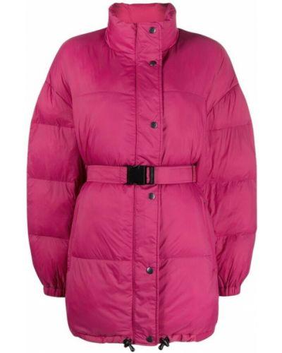 Płaszcz - różowy Isabel Marant Etoile