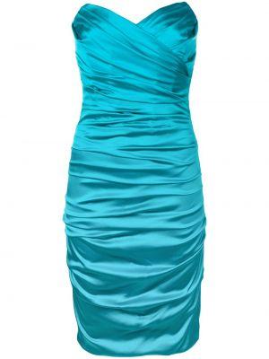 Приталенное платье винтажное с драпировкой на молнии Dolce & Gabbana Pre-owned