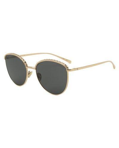 Солнцезащитные очки золотые металлические Chanel