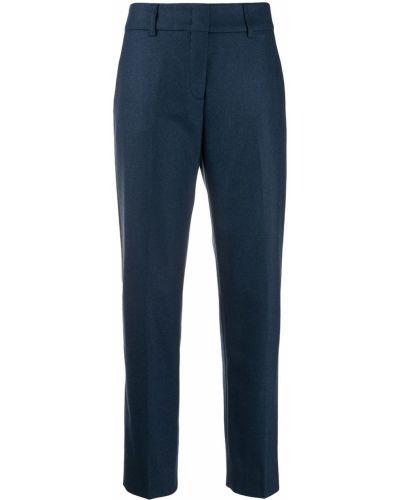 Укороченные брюки стрейч брюки-хулиганы Piazza Sempione
