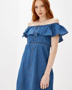 Джинсовое платье осеннее турецкий Glenfield