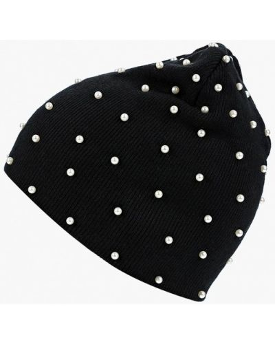 Черная шапка осенняя Zarina
