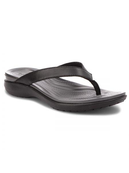 Spodnie capri czarny szary Crocs