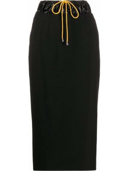 Czarna spódnica ołówkowa wełniana Aalto