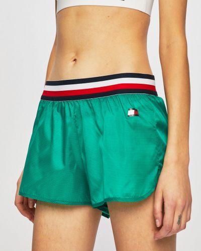 Спортивные шорты зеленый Tommy Sport
