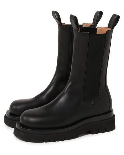 Повседневные кожаные ботинки челси с подкладкой Bottega Veneta