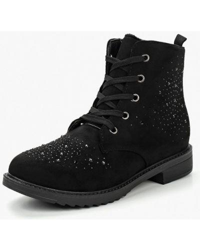Ботинки осенние черные Max Shoes