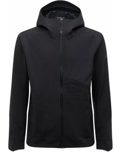 Куртка софтшелл - черная Arcteryx