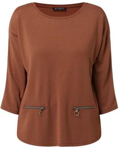 Brązowa bluzka z paskiem Betty Barclay