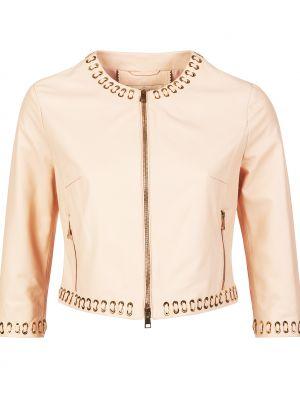 Куртка из полиэстера - розовая Gallotti