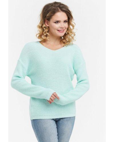 Бирюзовый пуловер 2018 Vay