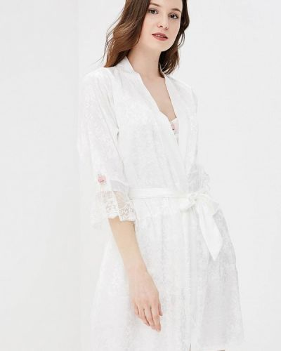 Домашний белый халат Mia-amore