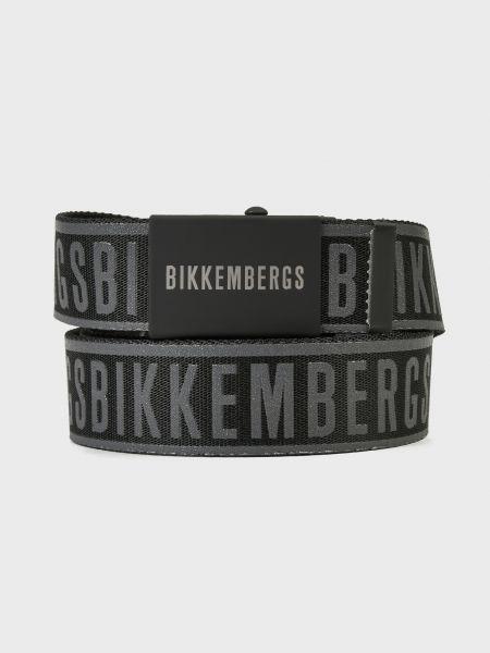 Черный ремень Bikkembergs