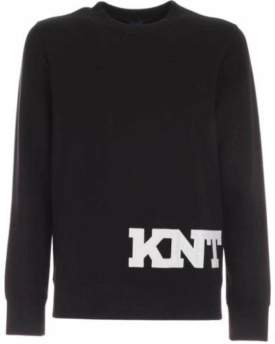 Czarna bluza dresowa Kiton