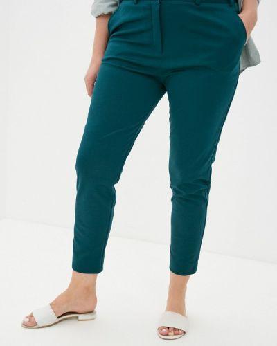 Зеленые прямые брюки Svesta