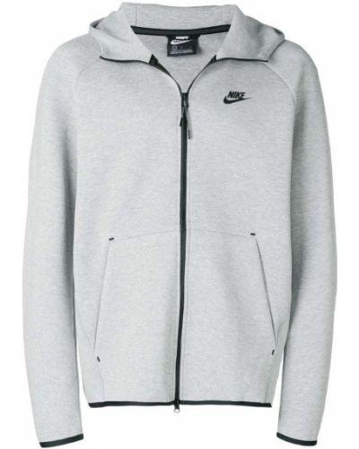 Толстовка с капюшоном на молнии с карманами Nike