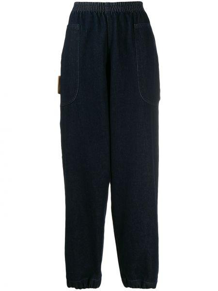 Мешковатые джинсы на резинке Courrèges