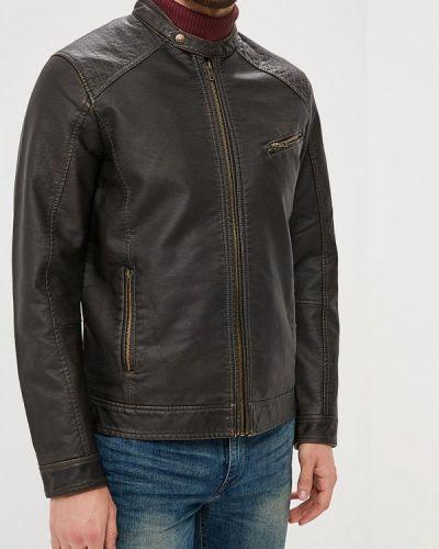 Кожаная куртка коричневый Colin's