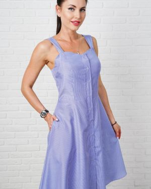 Летнее платье платье-сарафан на кнопках Taiga