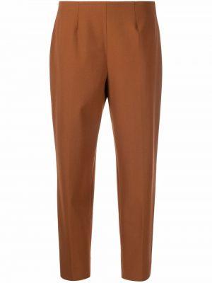 Укороченные брюки - коричневые Piazza Sempione