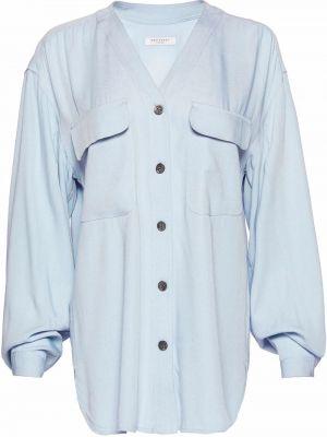 Длинная рубашка - синяя Equipment
