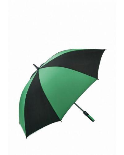 Зеленый зонт-трость Fulton