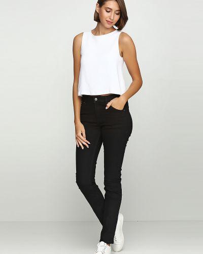 Черные джинсы на молнии Cheap Monday
