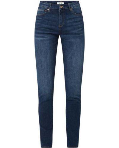 Mom jeans bawełniane - niebieskie Q/s Designed By