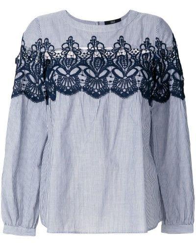 Блузка кружевная в полоску Steffen Schraut