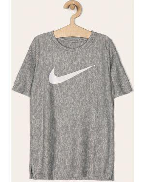 Koszula szary włókienniczy Nike Kids