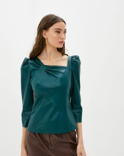 Зеленая блузка с длинными рукавами Love Republic