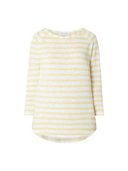 Bluzka w paski - żółta Rich & Royal