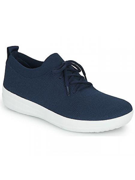 Niebieskie sneakersy Fitflop