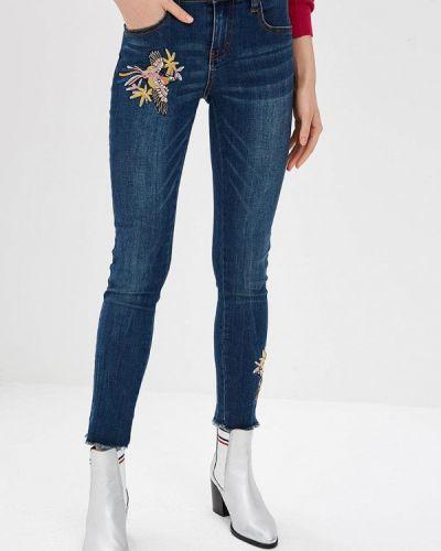 Прямые джинсы синие Camomilla Italia