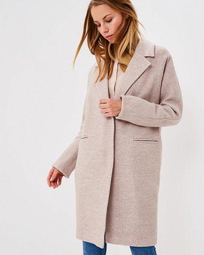 Бежевое пальто весеннее Trendyangel