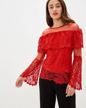 Блузка с длинным рукавом красная Care Of You