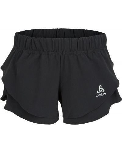 Спортивные шорты черные с карманами Odlo