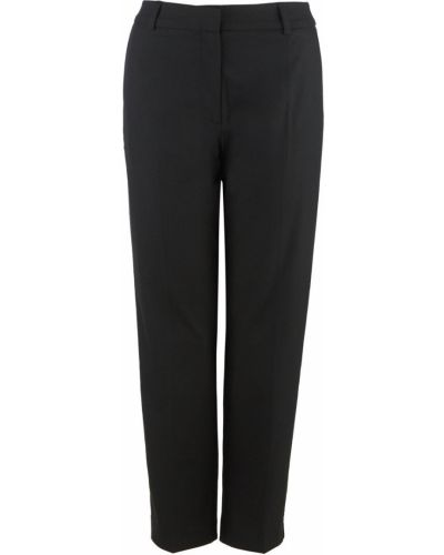 Черные зауженные брюки Selected