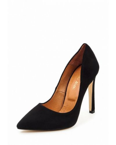 Черные туфли-лодочки Roberto Netti