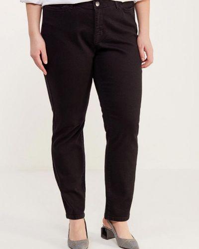 Черные джинсы с высокой посадкой Junarose