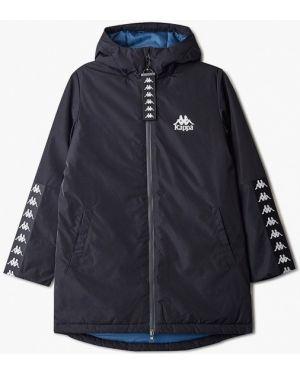 Куртка черная теплая Kappa
