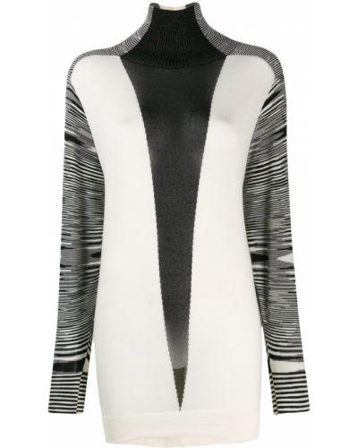 Платье макси в полоску платье-свитер Missoni