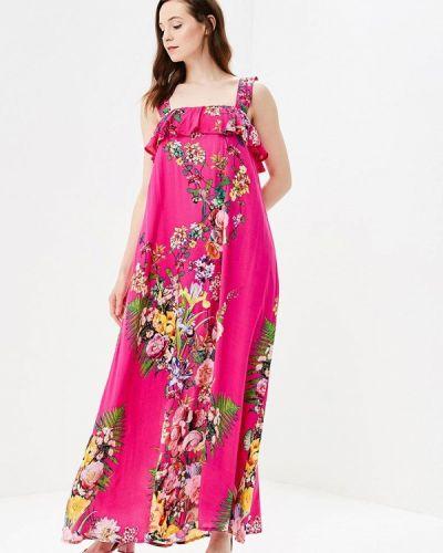 Розовое платье весеннее Madam T