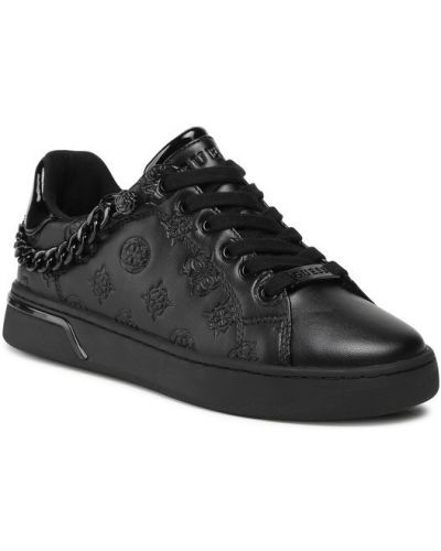 Czarne sneakersy Guess